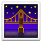 Bridge de nuit