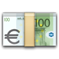 Money with euro